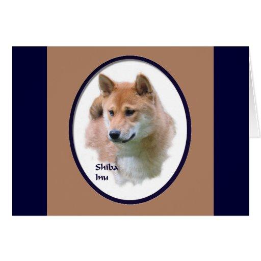 Regalos de Shiba Inu Tarjeta De Felicitación