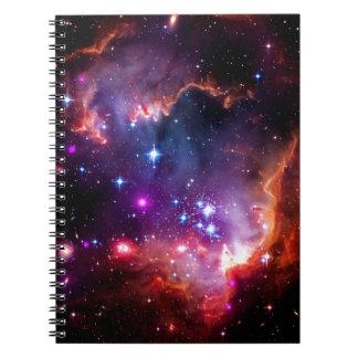Regalos de SpaceGalaxies - pequeña nube de Magella Libro De Apuntes Con Espiral