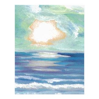 Regalos de Sun de la resaca del mar del océano de Membrete