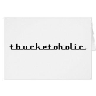 Regalos de Tbucketoholic Tbucket por Gear4gearhead Tarjeta De Felicitación