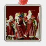Regalos de vacaciones de Nick del santo de Santas  Ornamentos De Reyes Magos