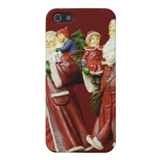 Regalos de vacaciones de Nick del santo de Santas  iPhone 5 Protector