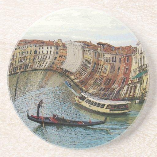 Regalos de Venecia Italia y cajas del teléfono Posavasos Manualidades