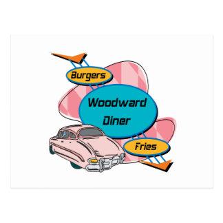 Regalos de Woodward del comensal de Woodward por G Tarjeta Postal