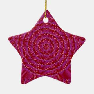 Regalos decorativos de las costuras del pétalo de ornamento para arbol de navidad