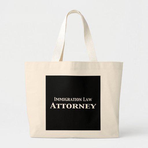 Regalos del abogado de la ley de la inmigración bolsa