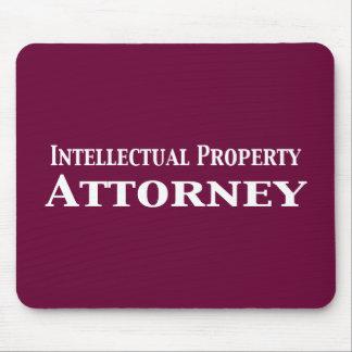 Regalos del abogado de la propiedad intelectual mousepads
