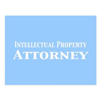 Regalos del abogado de la propiedad intelectual postal