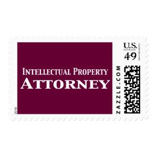 Regalos del abogado de la propiedad intelectual sellos postales