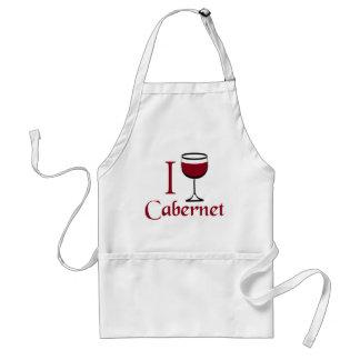 Regalos del amante del vino de Cabernet Delantal