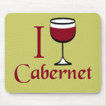 Regalos del amante del vino de Cabernet Tapetes De Ratón