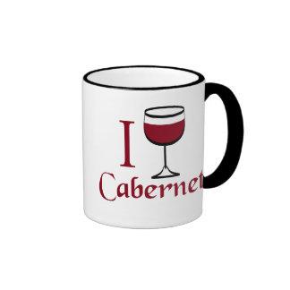 Regalos del amante del vino de Cabernet Taza
