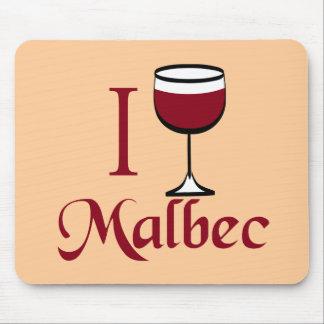 Regalos del amante del vino del Malbec Mouse Pads
