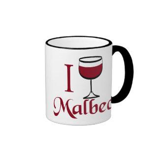 Regalos del amante del vino del Malbec Tazas De Café