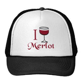 Regalos del amante del vino del Merlot Gorra