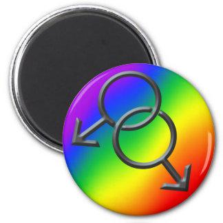 Regalos del amor del arco iris del imán del orgull