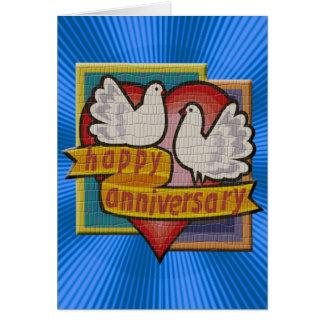 Regalos del aniversario de boda felicitación