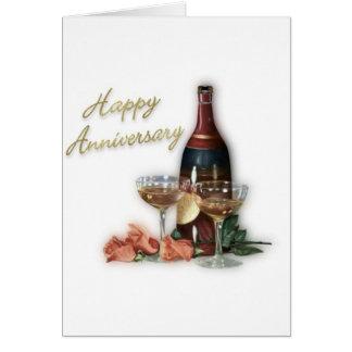 Regalos del aniversario de boda felicitacion