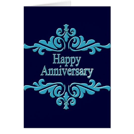 Regalos del aniversario de boda tarjeta de felicitación