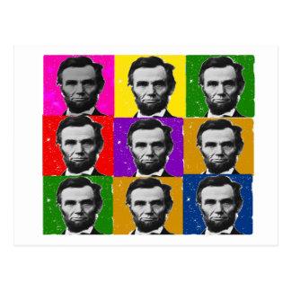 Regalos del arte de Abraham Lincoln---9 fotos Postales