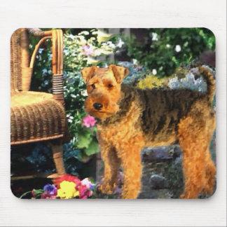 Regalos del arte de Terrier galés Mousepads