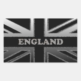 Regalos del arte del diseño de la bandera de Union Pegatina Rectangular