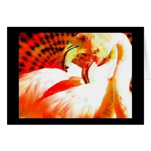 Regalos del arte del flamenco felicitación
