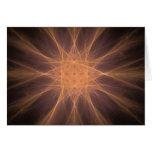 Regalos del arte del fractal de la estrella del tarjetón
