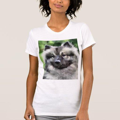 Regalos del arte del Keeshond Camiseta