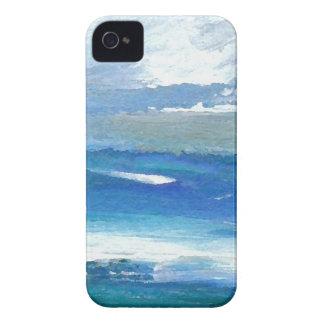 Regalos del arte del océano de Oceanscape del cari Case-Mate iPhone 4 Protector