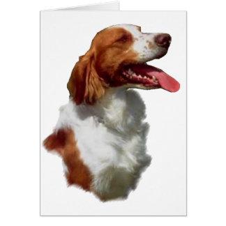 Regalos del arte del perro de aguas de Bretaña Tarjetas