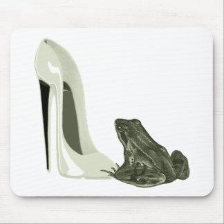 Regalos del arte del zapato y de la rana del estil alfombrilla de raton