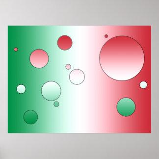 Regalos del arte para los italianos Colores de la Impresiones
