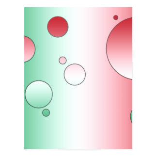 Regalos del arte para los italianos: Colores de la Postales