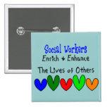 Regalos del asistente social pins