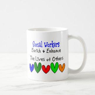 Regalos del asistente social taza