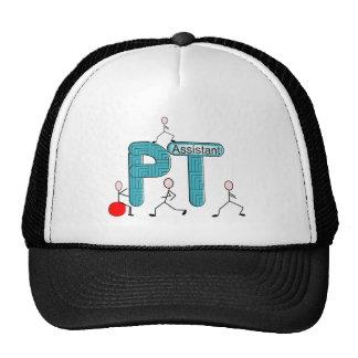 Regalos del ayudante de la terapia física gorras