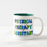 Regalos del ayudante de la terapia física taza de café