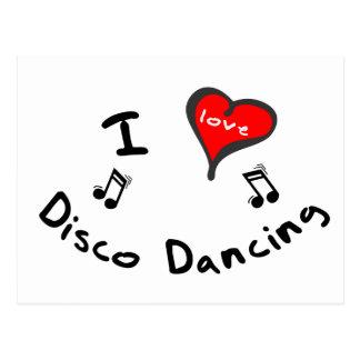 Regalos del baile del disco - baile del disco del tarjeta postal