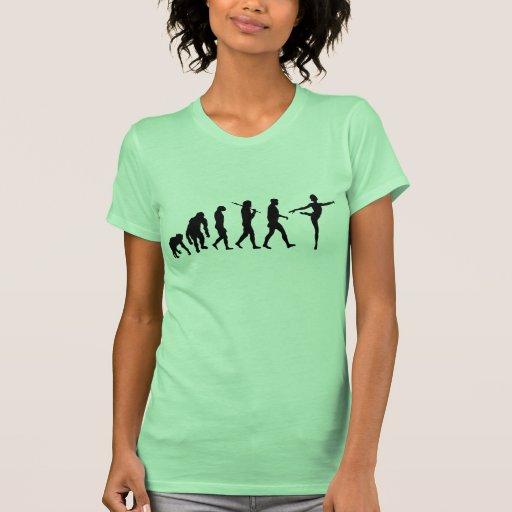Regalos del baile para el ballet y los bailarines  camiseta