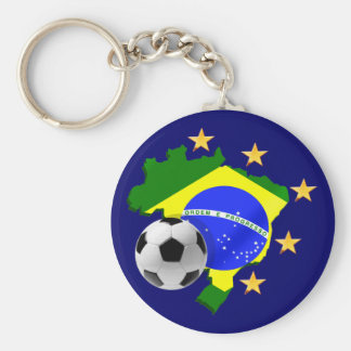Regalos del balón de fútbol de las estrellas del m llavero personalizado