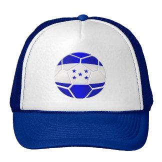 Regalos del balón de fútbol del Los Catrachos Hond Gorras De Camionero