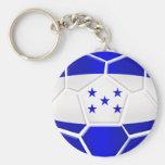 Regalos del balón de fútbol del Los Catrachos Hond Llavero Redondo Tipo Pin