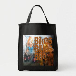 Regalos del Bbq de los azules de las bicis Bolsa