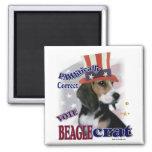 Regalos del beagle imán