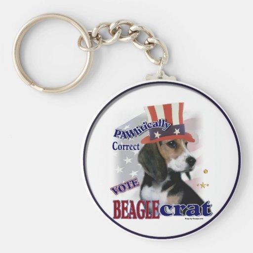 Regalos del beagle llavero personalizado