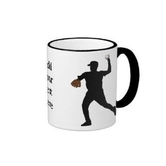 Regalos del béisbol taza