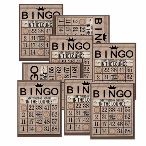 Regalos del bingo fotoescultura vertical