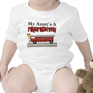 Regalos del bombero camiseta