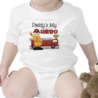 Regalos del bombero traje de bebé